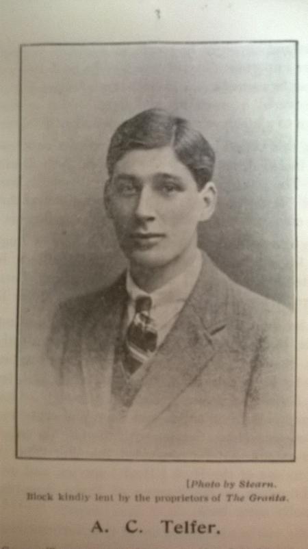 Profile picture for Andrew Cecil Telfer