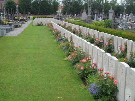 Merville Communal Cemetery, Nord, France 1