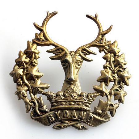 Gordon Highlanders Cap Badge