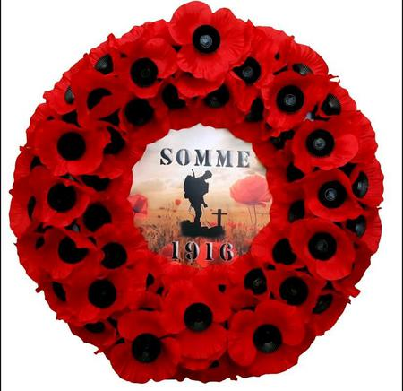 The Battle of the Somme.
