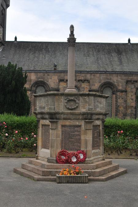 Aberlour War Memorial, Speyside, Banffshire