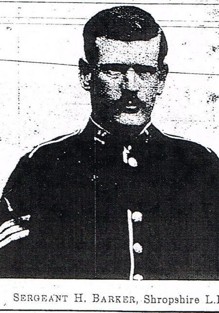 Sergeant Henry (Harry) Barker