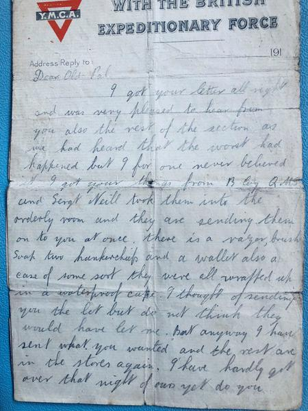Letter to Frederic
