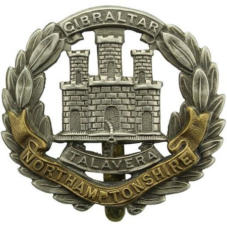 Northamptonshire Regiment Cap Badge