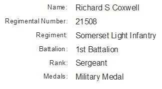 Profile picture for Richard Stanley Coxwell