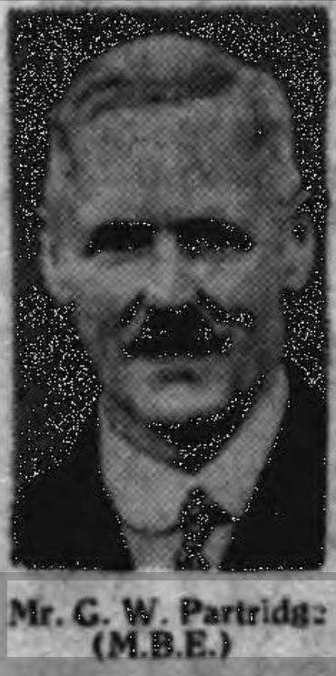 Profile picture for Gilbert Wright Partridge