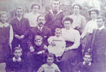George Percy and family
