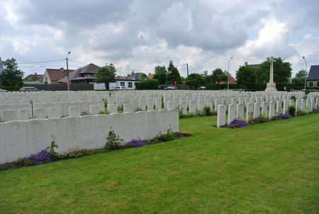 Duhallow ADS cemetery, Ieper, Belgium