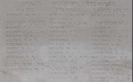 2Lt Alexander Laing Smith Memorial Apse Tyne Cot