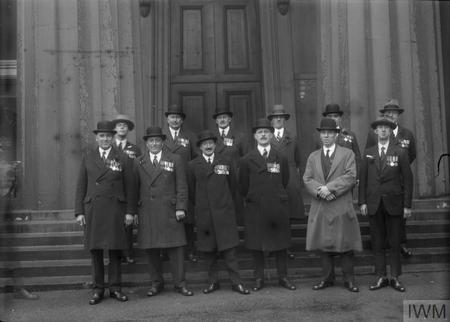 Victoria Cross Winners 1914 - 1919