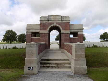 New Irish Farm Cemetery, West-Vlaanderen 2