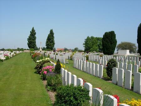 New Irish Farm Cemetery, West-Vlaanderen 5