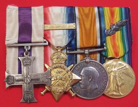 MC, 14 Star and Clasp, BWM and Victory Medal/Emb