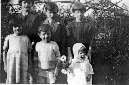 Leonard and Eveline's children