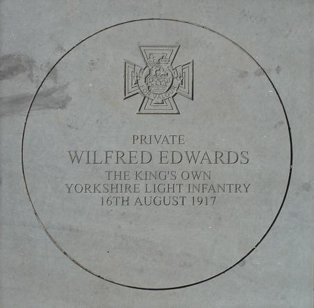 Wilfred Edwards Memorial stone