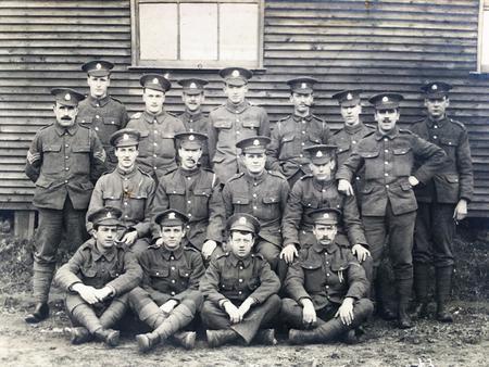 Edward in the Bedfordshire Regiment