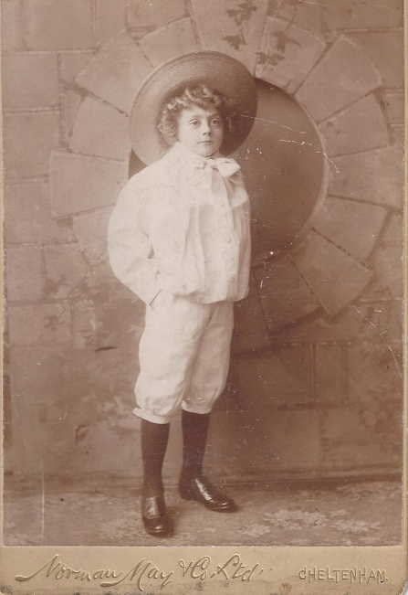 Arthur Frederick Parsons Gibson aged 6 years