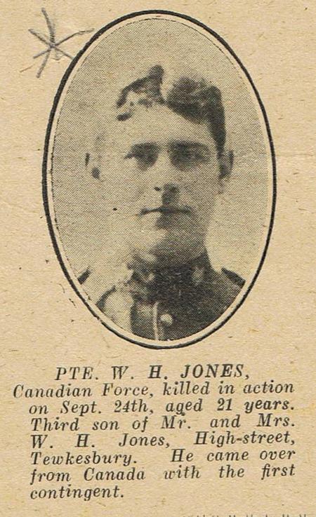 Profile picture for William Herbert Jones