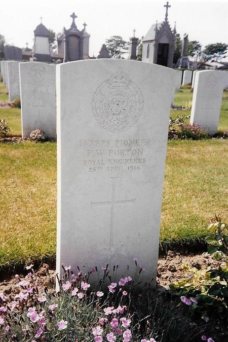 Profile picture for Frederick William Purton