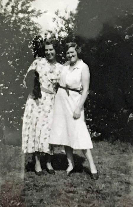 Edna and Madge at Eversley
