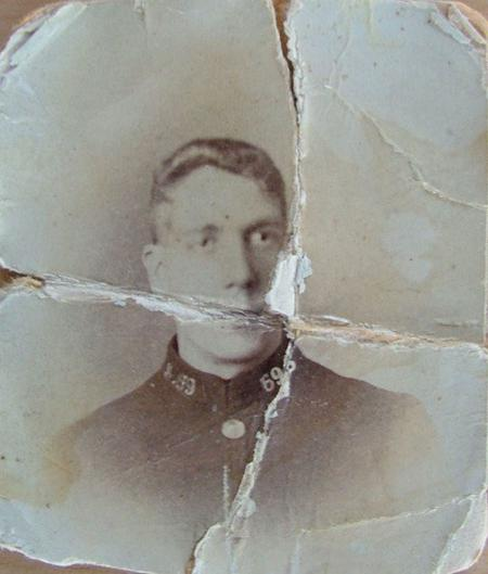Thomas Johnson in police uniform