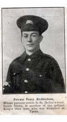 Percy in King's Own uniform