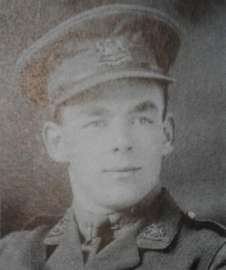 Second Lieutenant Benson Waldren.