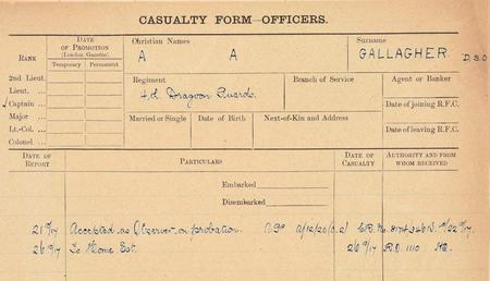 RFC/RAF casualties