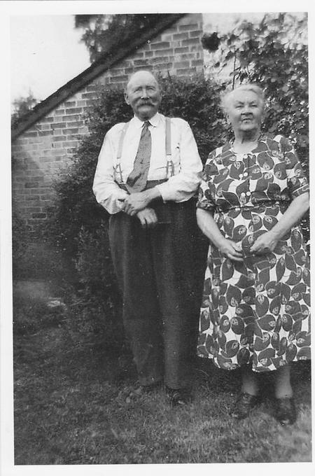 Photograph of John and Rosa Vincent circa 1955