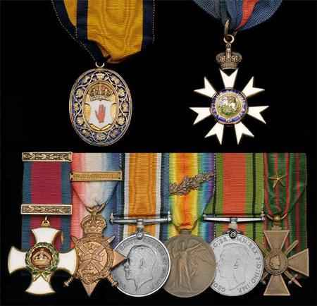 Armytage's orders, decorations and medals