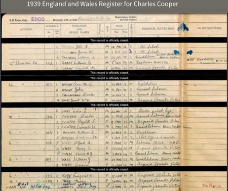 1939 Register.