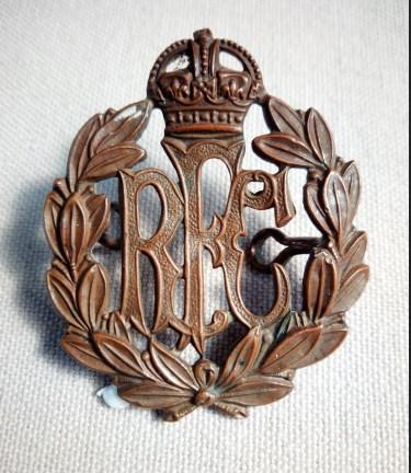 Royal Flying Corps Cap Badge