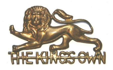 King's Own (Roayal Lancaster Regiment) cap badge