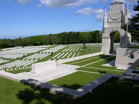 Etaples Military Cemetery.