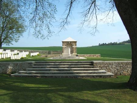 Marfaux British Cemetery, Marne, France 1