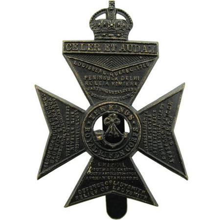KRRC cap badge