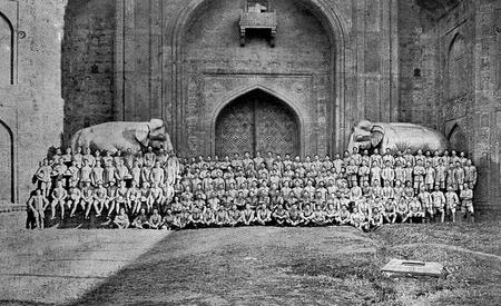4th Bn, KRRC, Elephant Gate, Delhi 1911