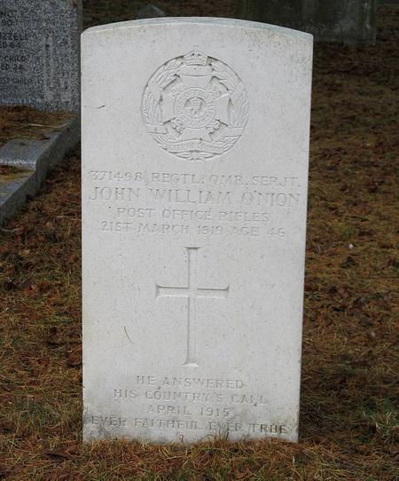 Profile picture for John William O'nion
