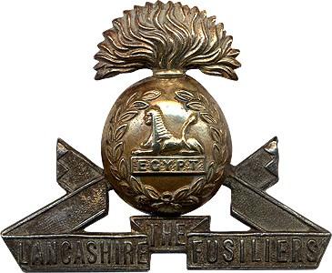 Lancashire Fusiliers cap badge
