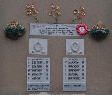 Kirkmichael Parish War Memorial, Tomintoul 1