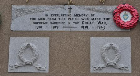 Kirkmichael Parish War Memorial, Tomintoul 2