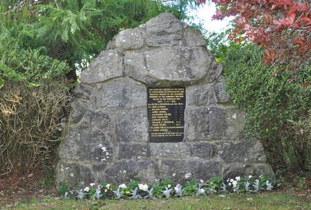 Pluscarden War Memorial, Moray 1
