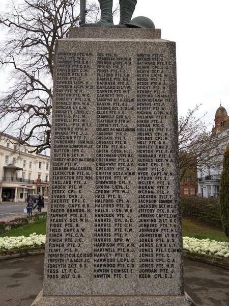 Leamington Spa War Memorial
