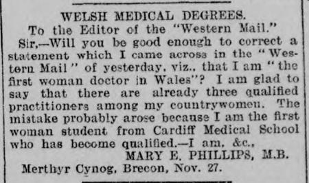 Welsh medical degrees