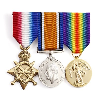 14/15 Star, BWM and Victory Medal