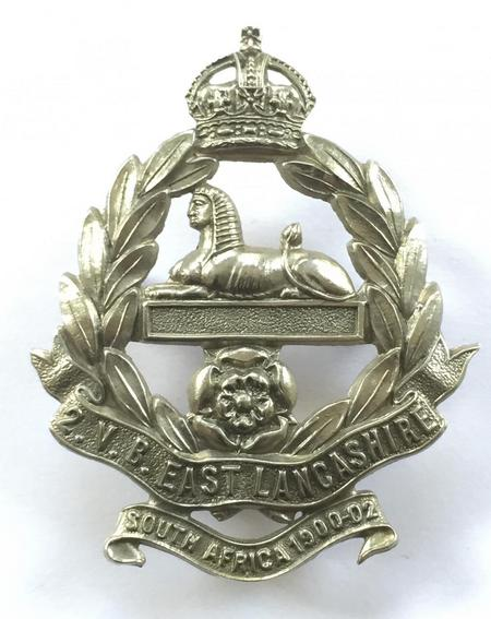 2nd Volunteer Bn East Lancashire Regiment badge