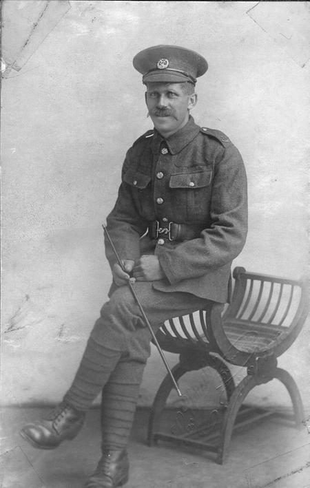 Thomas Barker circa 1916.