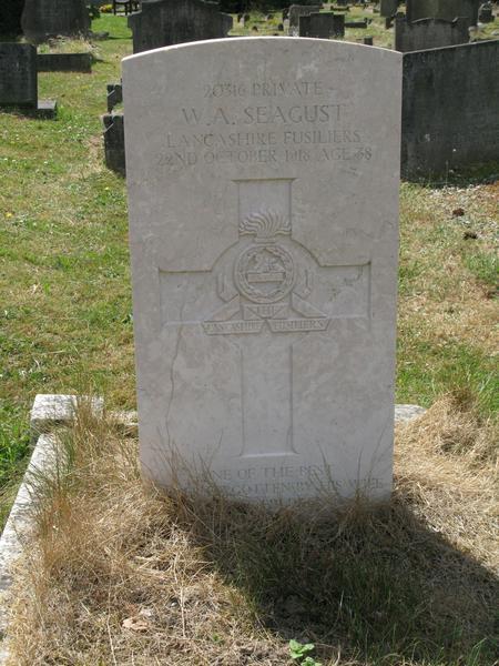 Profile picture for William Arthur Seagust