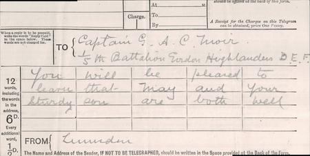 Personal telegram