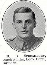 Profile picture for Bertram Byron Spreadbury
